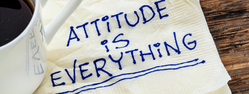 It just about your attitude
