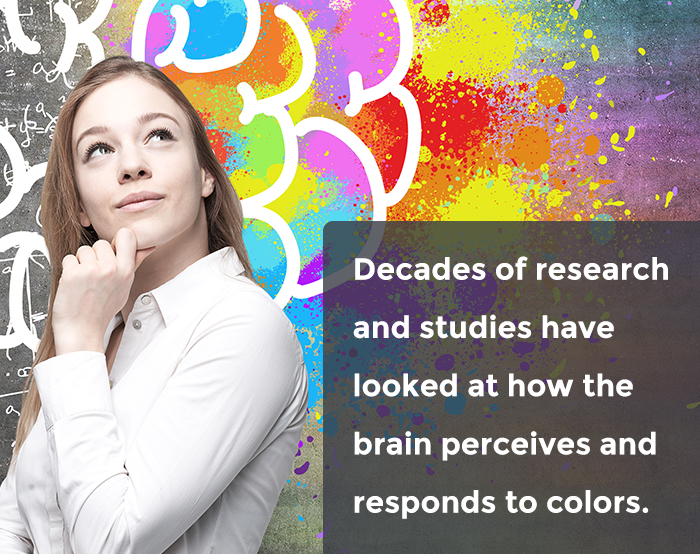 Research has shown that colors affect brain and can be helpful in graphic design.