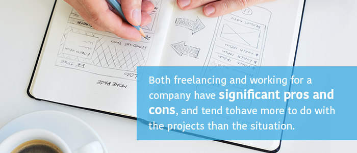 Pros and Cons of Freelance Graphic Design