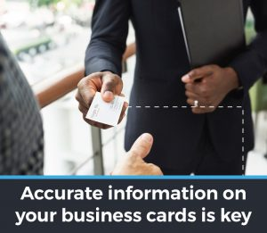 Key tips for business card design