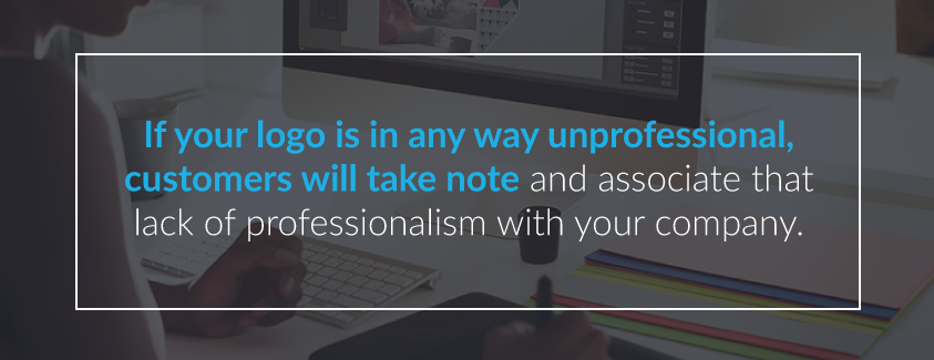 Portray Professionalism in your Logo Design