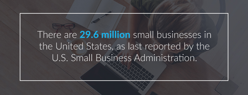 29.6 million small business in the U.S.