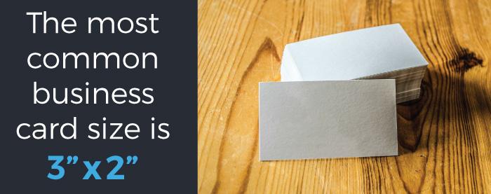 Standard 2x3 Business Card Design