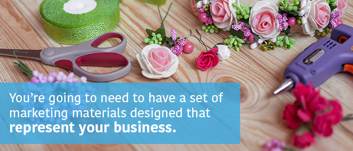Floral Business Marketing Materials