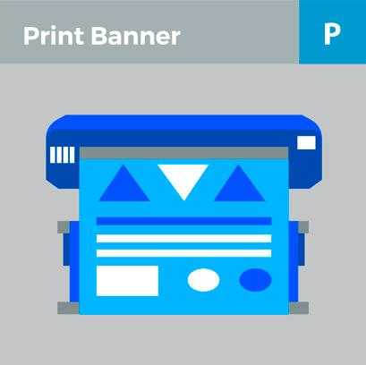 Print banner design online